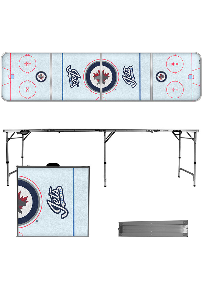 Winnipeg Jets 2x8 Tailgate Table - Image 1