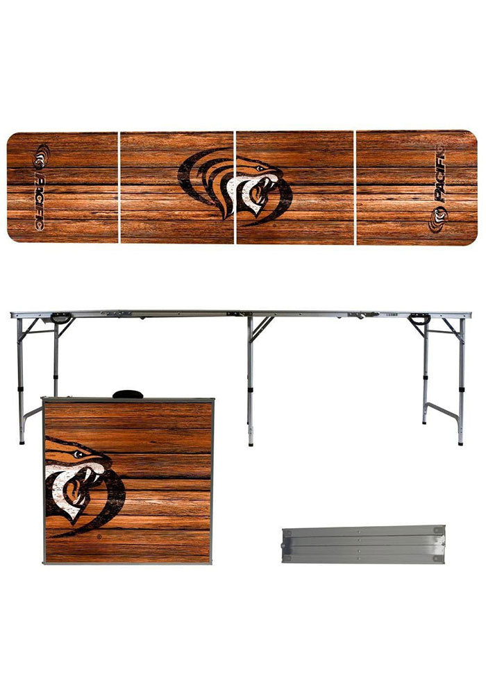 Pacific Tigers 2x8 Tailgate Table - Image 1