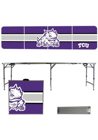 TCU Horned Frogs 2x8 Tailgate Table