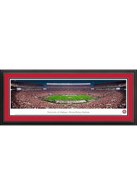 Alabama Crimson Tide Football Panorama Deluxe Framed Posters