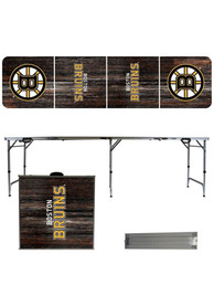 Boston Bruins 2x8 Tailgate Table