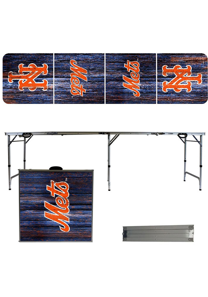 New York Mets 2x8 Tailgate Table - Image 1