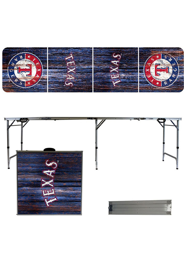 Texas Rangers 2x8 Tailgate Table - Image 1