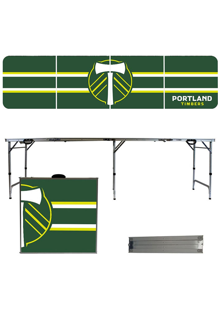 Portland Timbers 2x8 Tailgate Table - Image 1