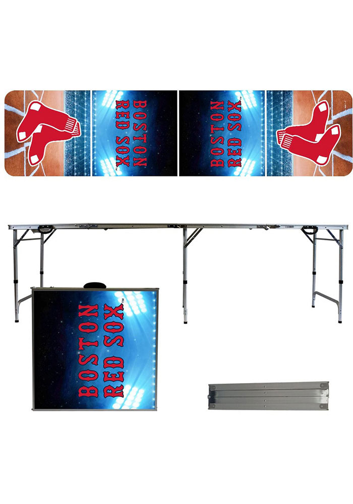 Boston Red Sox 2x8 Tailgate Table - Image 1
