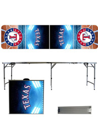 Texas Rangers 2x8 Tailgate Table