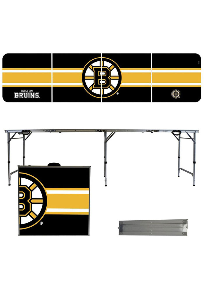 Boston Bruins 2x8 Tailgate Table - Image 1