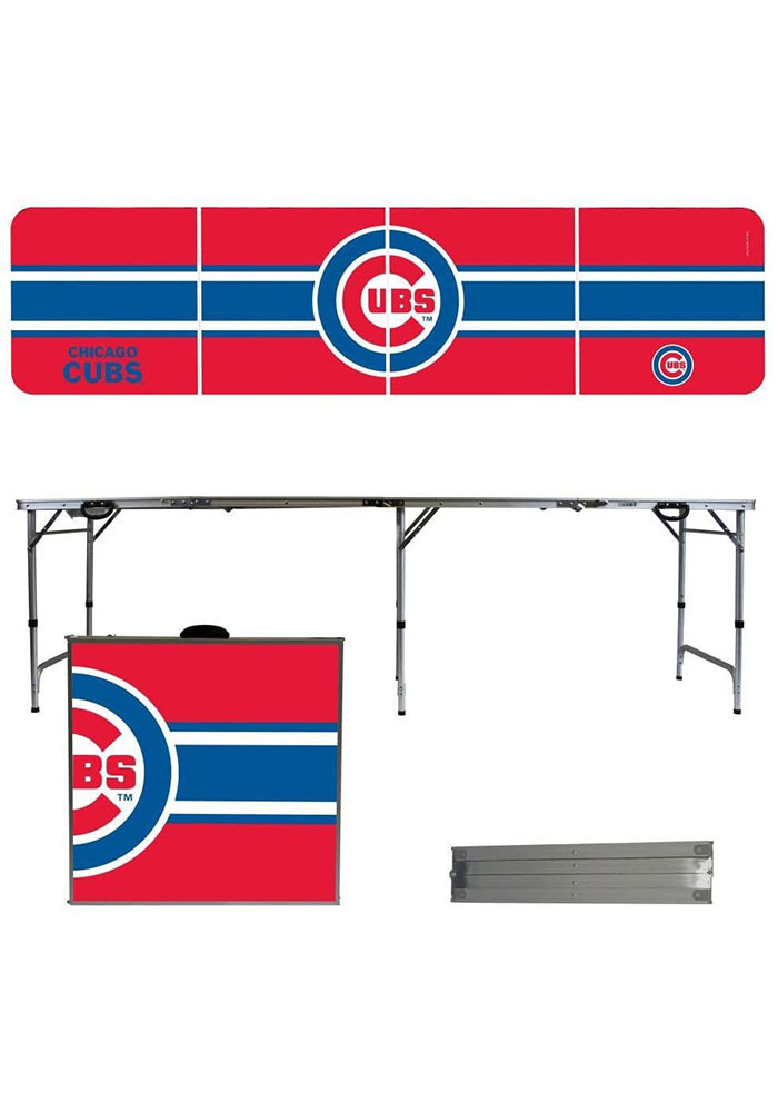 Chicago Cubs 2x8 Tailgate Table - Image 1