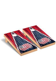 New England Revolution Triangle Regulation Cornhole Tailgate Game