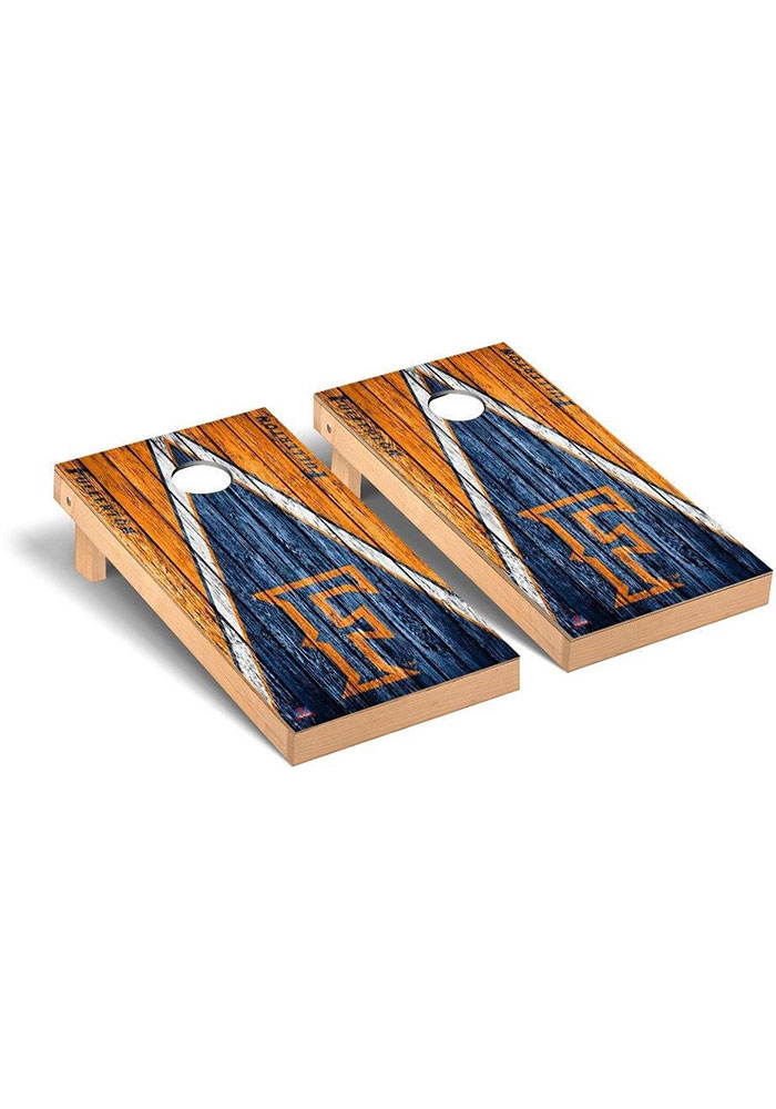 Cal State Fullerton Titans Triangle Regulation Cornhole Tailgate Game