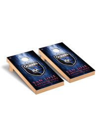 San Jose Earthquakes Museum Regulation Cornhole Tailgate Game