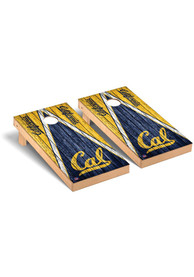 Cal Golden Bears Triangle Regulation Cornhole Tailgate Game