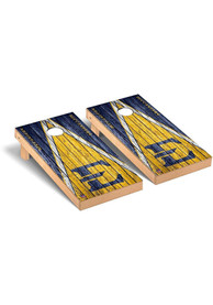 East Tennesse State Buccaneers Triangle Regulation Cornhole Tailgate Game