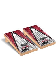 Indianapolis Greyhounds Triangle Regulation Cornhole Tailgate Game