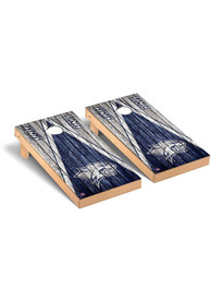 New Hampshire Wildcats Triangle Regulation Cornhole Tailgate Game