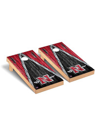 Nicholls State Colonels Triangle Regulation Cornhole Tailgate Game