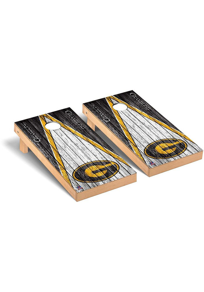 Grambling State Tigers Triangle Regulation Cornhole Tailgate Game - Image 1