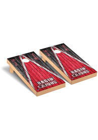 UL Lafayette Ragin' Cajuns Triangle Regulation Cornhole Tailgate Game