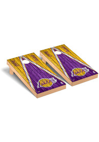 Los Angeles Lakers Triangle Regulation Cornhole Tailgate Game
