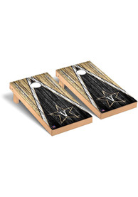 Vanderbilt Commodores Triangle Regulation Cornhole Tailgate Game