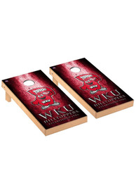 Western Kentucky Hilltoppers Museum Regulation Cornhole Tailgate Game