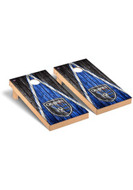San Jose Earthquakes Triangle Regulation Cornhole Tailgate Game