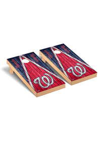 Washington Nationals Triangle Regulation Cornhole Tailgate Game