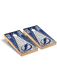 Tampa Bay Lightning Triangle Regulation Cornhole Tailgate Game