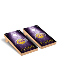 Los Angeles Lakers Museum Regulation Cornhole Tailgate Game