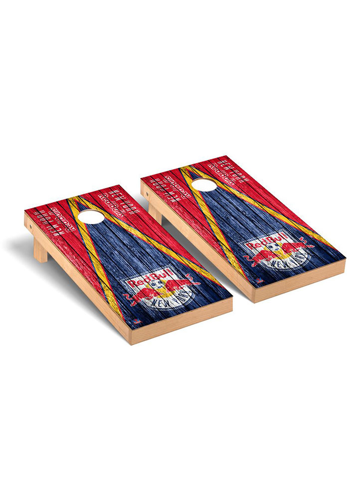New York Red Bulls Triangle Regulation Cornhole Tailgate Game