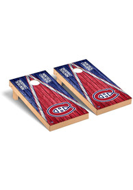Montreal Canadiens Triangle Regulation Cornhole Tailgate Game