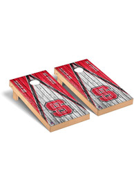 NC State Wolfpack Triangle Regulation Cornhole Tailgate Game
