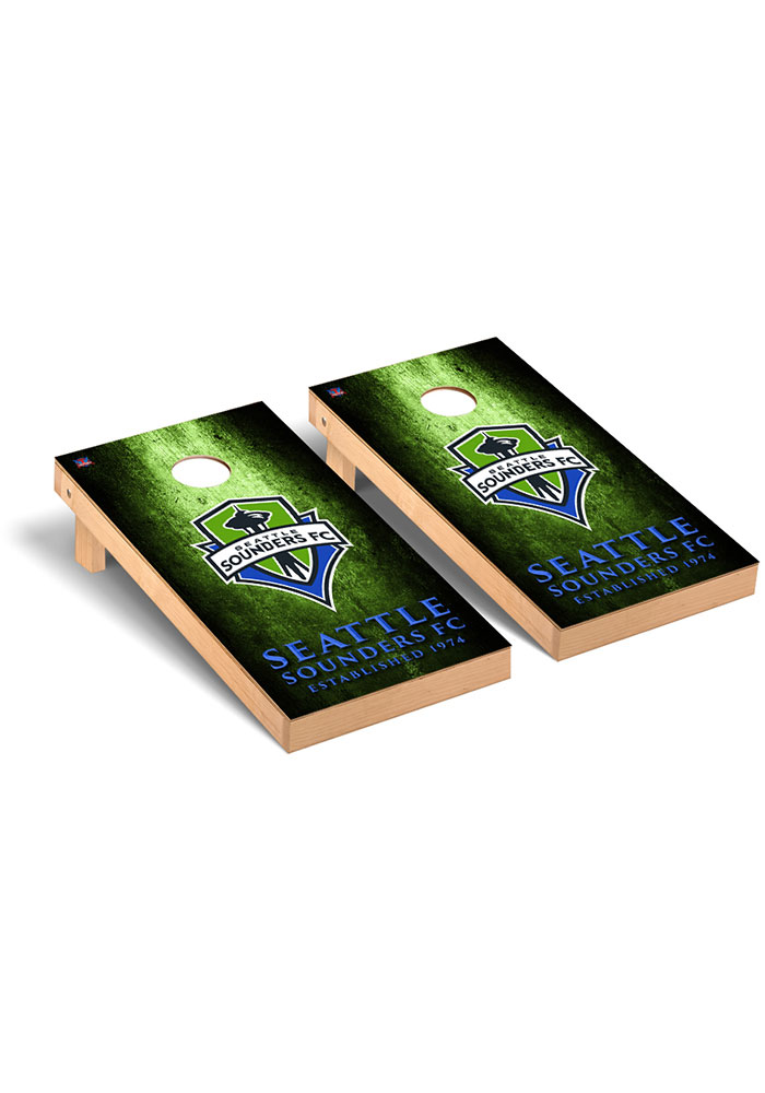 Seattle Sounders FC Museum Regulation Cornhole Tailgate Game