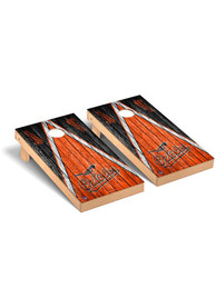 Baltimore Orioles Triangle Regulation Cornhole Tailgate Game