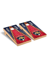 Florida Panthers Triangle Regulation Cornhole Tailgate Game