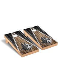 Wofford Terriers Triangle Regulation Cornhole Tailgate Game