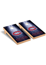 Montreal Canadiens Museum Regulation Cornhole Tailgate Game