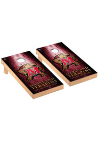 Maryland Terrapins Museum Regulation Cornhole Tailgate Game