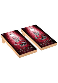 NC State Wolfpack Museum Regulation Cornhole Tailgate Game