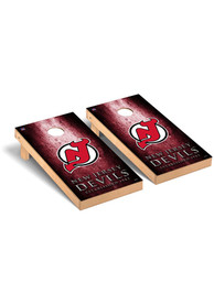 New Jersey Devils Museum Regulation Cornhole Tailgate Game