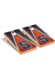 Syracuse Orange Triangle Regulation Cornhole Tailgate Game