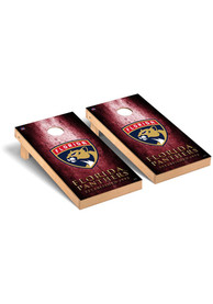 Florida Panthers Museum Regulation Cornhole Tailgate Game
