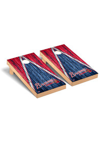 Atlanta Braves Triangle Regulation Cornhole Tailgate Game