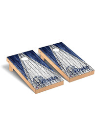 Drake Bulldogs Triangle Regulation Cornhole Tailgate Game