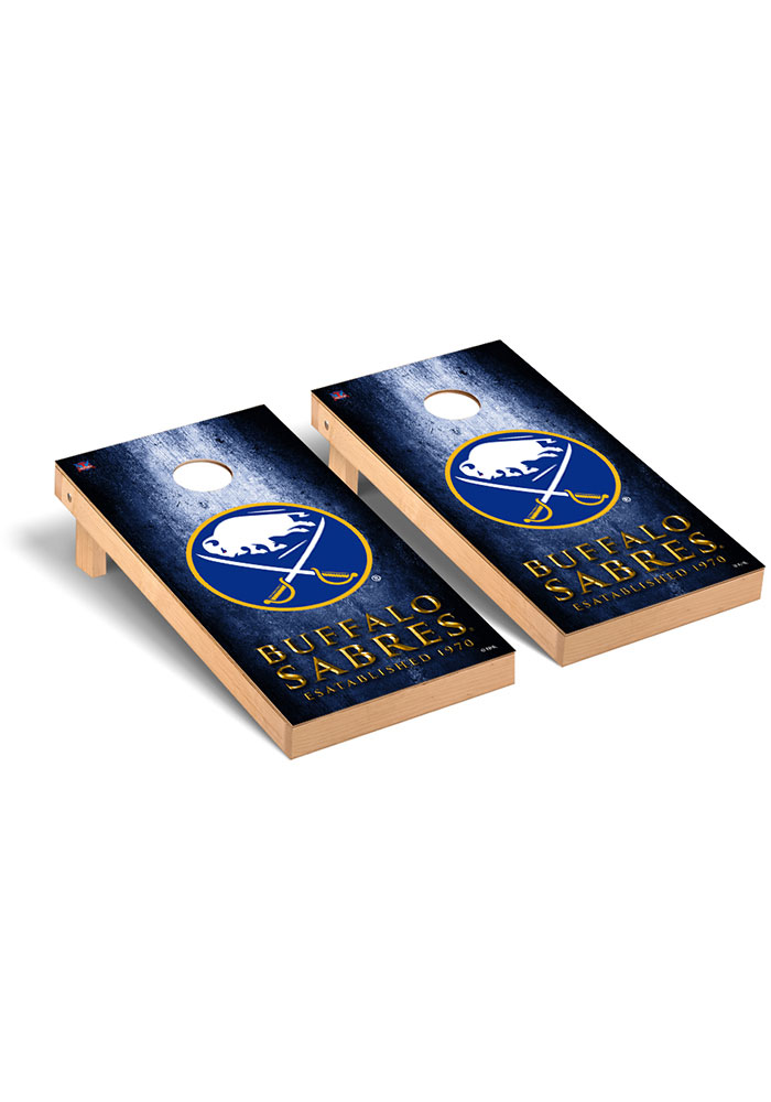 Buffalo Sabres Museum Regulation Cornhole Tailgate Game