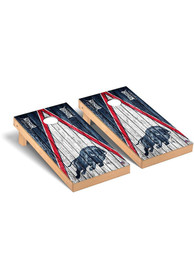 Howard Bison Triangle Regulation Cornhole Tailgate Game