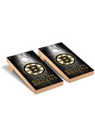 Boston Bruins Museum Regulation Cornhole Tailgate Game