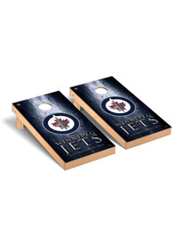 Winnipeg Jets Museum Regulation Cornhole Tailgate Game