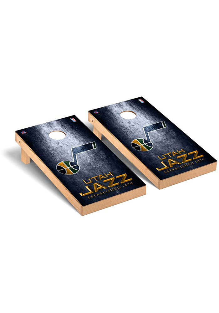 Utah Jazz Museum Regulation Cornhole Tailgate Game - Image 1