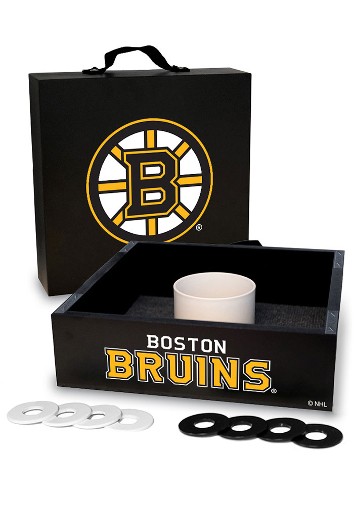 Boston Bruins Washer Toss Tailgate Game - Image 1